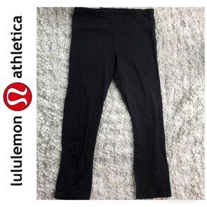 Lululemon Black Leggings Pants Size 4
